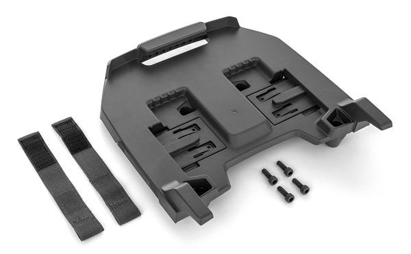 Adapterplatte für Rücken-Akku
